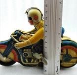 Мотоцикл с Коляской Tin Litho Винтаж Великобритания, фото №12