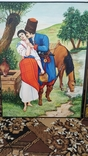 Картина Козак с Девушкой. С пожеланиями. Копия, фото №9