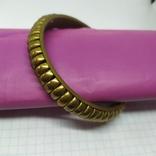 Латунный полый браслет. ширина 12мм (3), фото №5