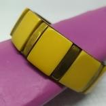 Латунный браслет со вставками из кости. ширина 23мм (3), фото №6