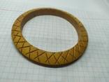 Деревянный браслет с орнаментом. (3), фото №7
