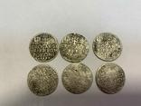 Монеты средневековья. Польша.6 шт., фото №2