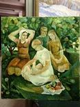 Соцреализм Материнство 1976 год, Яковлева Лариса Аркадьевна (1946), фото №2