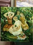 Соцреализм Материнство 1976 год, Яковлева Лариса Аркадьевна (1946), фото №3