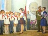 Соцреализм Прием в пионеры 1972 год, Довженко Анатолий Иванович (1932), фото №3