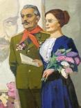 Соцреализм Прием в пионеры 1972 год, Довженко Анатолий Иванович (1932), фото №6