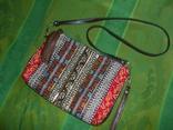 Сумка-клатч с вышивкой и декором, фото №2