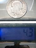 Монета Ядвига 1933г, фото №6
