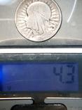 Монета Ядвига 1933г, фото №7