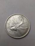 Монета 25 cents Canada-1954рік., фото №7