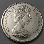 Монета 50 cents Canada 1966рік., фото №6