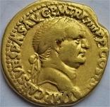 Ауреус Веспасіана, Римська імперія, 69-79 рр., золото, фото №2