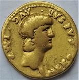 Ауреус Нерона, ранній, Римська імперія, 54-68 рр., золото, фото №2