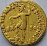 Ауреус Нерона, ранній, Римська імперія, 54-68 рр., золото, фото №3