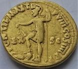Ауреус Нерона, ранній, Римська імперія, 54-68 рр., золото, фото №4