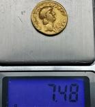 Ауреус Нерона, ранній, Римська імперія, 54-68 рр., золото, фото №6