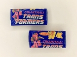 TRANSFORMERS. Chewing gum. Жвачка. Жевательная резинка. 2 шт, фото №3