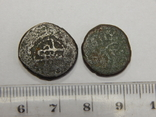 2 медные арабские монеты, фото №2