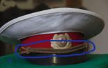 Тренчик плетенный к милицейской фуражке, фото №4