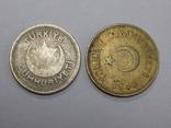 2 монеты Турции 5 и 25 куруш, фото №3