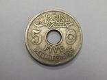 5 миллемов, Египет, 1917 г, фото №2