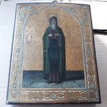 Икона Нестор Летописец 19-20в, фото №11