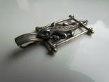 Кулон Ящерица серебро 925 пр., фото №4