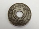 5 центов, 1925 г Британская Африка, фото №2