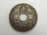 5 центов, 1925 г Британская Африка, фото №3