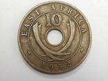 10 центов, 1952 г Британская Африка, фото №2