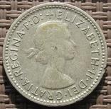 6 пенсов 1957 Австралия, фото №3