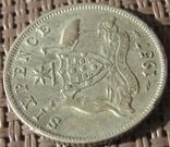 6 пенсов 1957 Австралия, фото №4