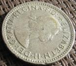 6 пенсов 1957 Австралия, фото №5