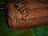Сумка кожаная Fossil Long Live Vintage и наплечный ремень Cowboys Bag, фото №6