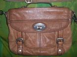 Сумка кожаная Fossil Long Live Vintage и наплечный ремень Cowboys Bag, фото №11