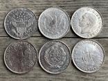 Копии редких монет Мира 6 шт, фото №4