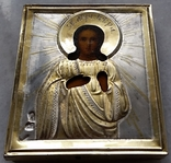 Іконка Св. муч. Віра, оклад срібло 84, фото №5