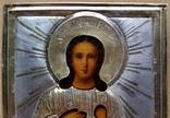 Іконка Св. муч. Віра, оклад срібло 84, фото №6