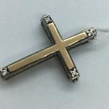Кулон крест серебро, фото №7