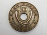 10 центов, 1941 г Британская Африка, фото №2