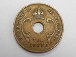 10 центов, 1943 г Британская Африка, фото №3