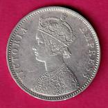 Британская Индия, Виктория, 1877 г., рупия, фото №3