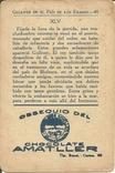 Путешествия Гулливера 1900-е Вкладыш Шоколад Chocolate Amatller №3, фото №3