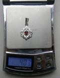Кулон. Серебро 925 пр. Вес - 4,03 г., фото №2