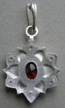 Кулон. Серебро 925 пр. Вес - 4,03 г., фото №5
