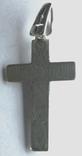 Крестик нательный серебро 925, фото №3