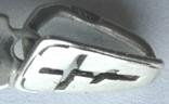 Крестик нательный серебро 925, фото №6