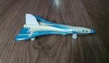 Самолет Аэрофлот СССР, ТУ-144, борт 98301, металл, фото №3
