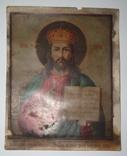 """Хромолитография """"Иисус Христос"""", фото №2"""