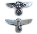 III REICH имперский орел, птица, курица, рукоятки кинжала SS, SA, СА, СС серебро. Копия., фото №4